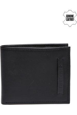 Fastrack Men Black Leather Wallet