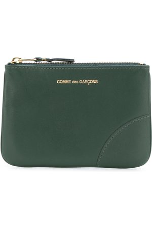 Comme des Garçons Wallets - Logo-print zipped wallet