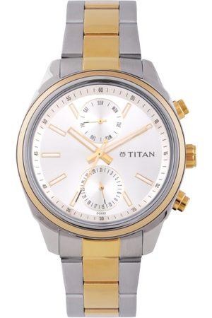 Titan Men Steel Analogue Watch 1733BM01