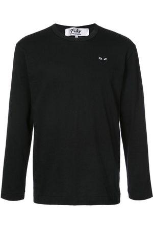 Comme des Garçons Long-sleeve heart logo T-shirt