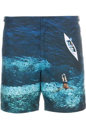 Orlebar Brown Deep Sea Mid-Length Swim Shorts