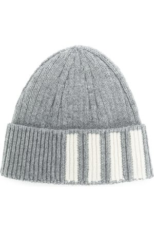 Thom Browne Ribbed Cashmere Hat