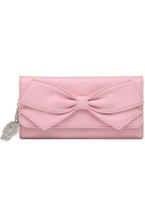 Butterflies Women Pink Solid Twofold Wallet