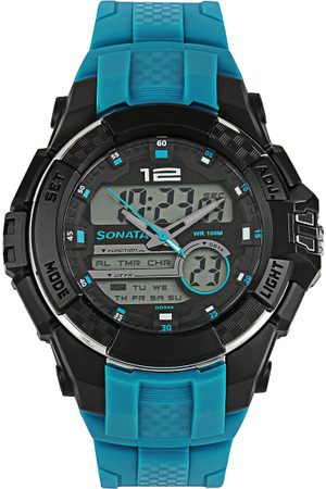 Sonata Ocean Series Men Analogue & Digital Watch 77027PP02J