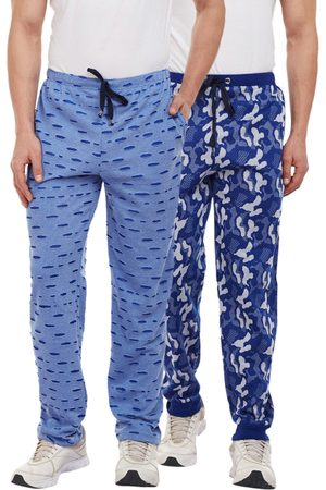 VIMAL JONNEY Men Pack Of 2 Slim Fit Track Pants