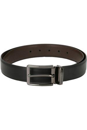 Pacific Men Black & Brown Solid Belt