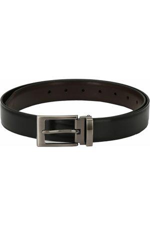 Pacific Men & Brown Reversible Solid Belt