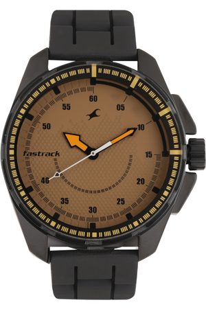 Fastrack Men Brown Analogue Watch NK3084NP01_OR