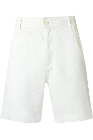 AMIR SLAMA Raw edges shorts