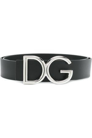 Dolce & Gabbana Men Belts - DG logo buckle belt