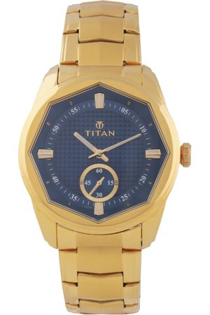 Titan Regalia Sovereign Men Blue Analogue watch NL1749YM01