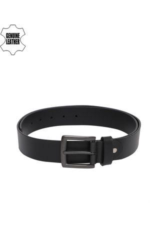 Mast & Harbour Men Solid Leather Belt