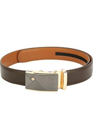 Pacific Men Brown Solid Belt