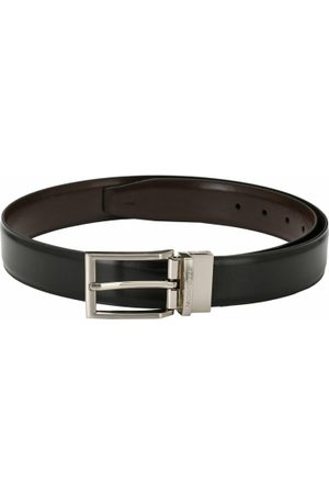 Pacific Men Black & Brown Solid Belt