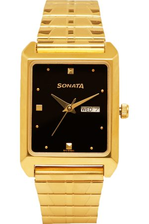 Sonata Men Analogue Watch NK7007YM04