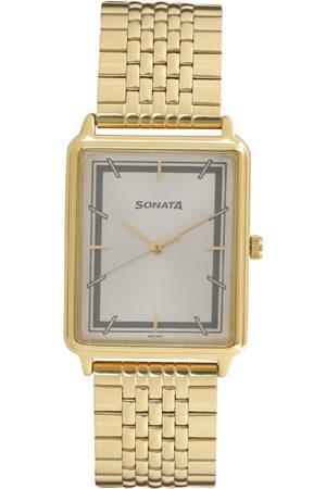 Sonata Men Analogue Watch 77084YM02