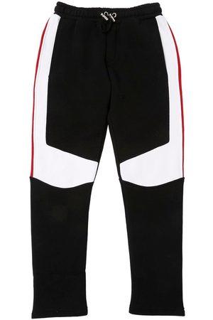 Balmain Color Block Cotton Sweatpants