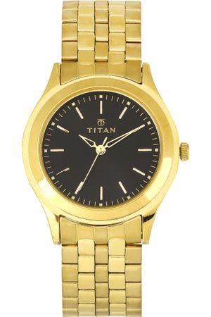 Titan Men Black Dial Watch 1648YM03