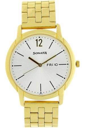 Sonata Men Analogue Watch NK77031YM06
