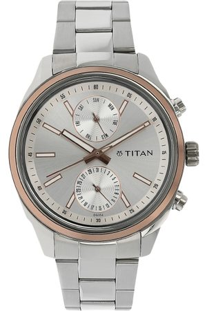 Titan Men -Toned & White Analogue Watch NK1733KM02