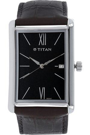 Titan Workwear Men Black Analogue watch NL1731SL01
