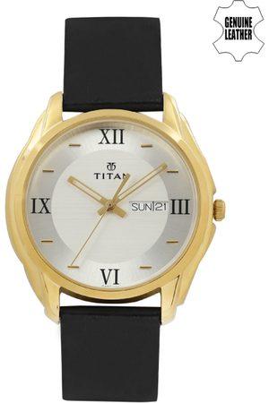 Titan Men -Toned & White Dial Watch NH1578YL04