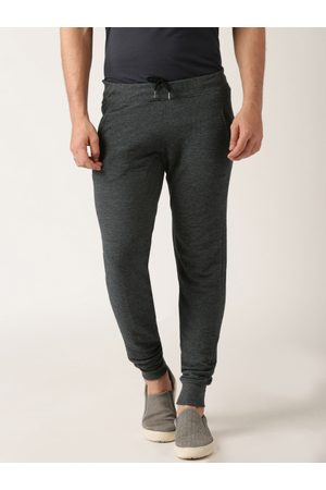 Ether Grey Melange Jogger Trousers