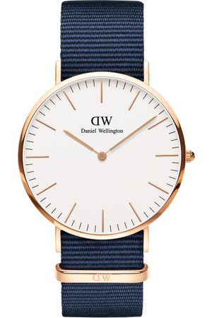 Daniel Wellington Men Classic 40mm Bayswater RG White Watch DW00100275