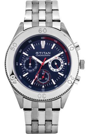 Titan Octane Men Blue Analogue watch NL9324SM04