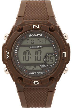 Sonata Men Digital Watch NK77033PP02
