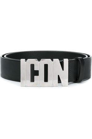 Dsquared2 Men Belts - Icon plaque belt