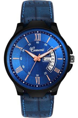 Camerii Men Blue Analogue Watch WM289