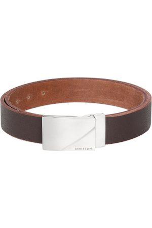 Benetton Men Brown Textured Belt