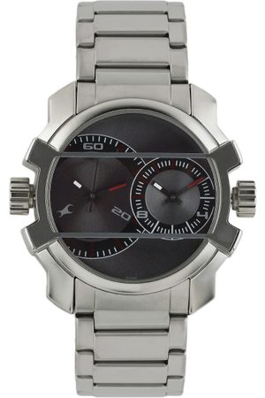 Fastrack Midnight party Men Grey Analogue watch NL3098SM01