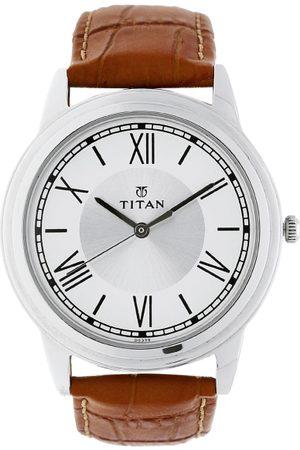 Titan Karishma Upgrades Men Silver Analogue watch NL1735SL01