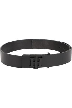 Tommy Hilfiger Men Black Solid Belt