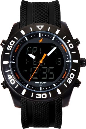 Fastrack Men Black Analogue and Digital Watch 38034NP01J