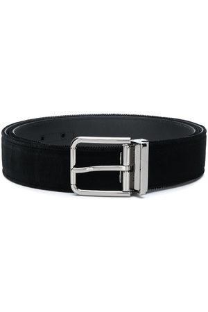 Dolce & Gabbana Men Belts - Velvet belt