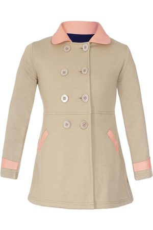 7326d18952db Beige Long Winterwear for Girls
