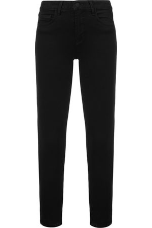 L'Agence High rise ankle grazer jeans