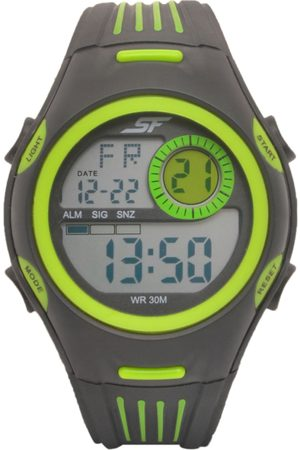 Sonata Men & Grey Digital Watch 77072PP01