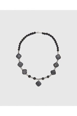 Zara NECKLACE WITH CONTRASTING STONES