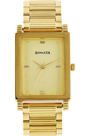Sonata Men -Toned Dial Watch NF7058YM02A