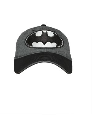 Kook N Keech Batman Men & Grey Batman Baseball Cap