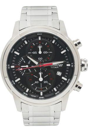 Titan Men Watches - Octane Upgrade Men Black Analogue watch NL90086SM01