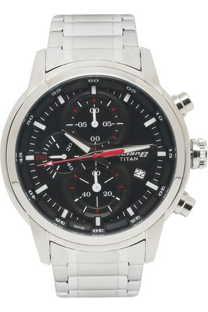 Titan Octane Upgrade Men Black Analogue watch NL90086SM01