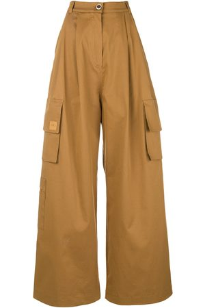 Natasha Zinko Women Cargo Trousers - Brown