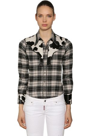 Dsquared2 Rodeo Cotton Plaid Shirt
