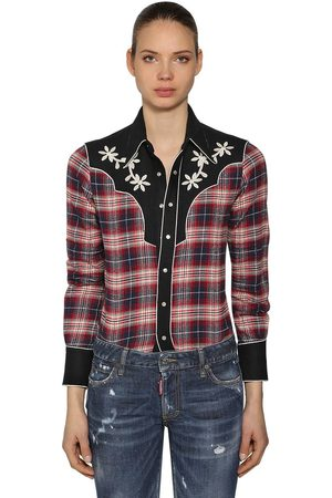 Cheap Dsquared2 Shirts for Women on Sale  aa43980a92de0