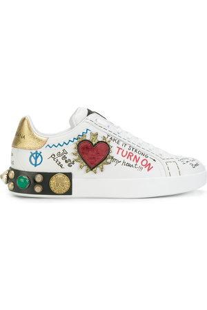 Dolce & Gabbana Men Sneakers - White